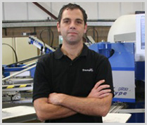 Tommy Newton Screenworks Print Production Manager